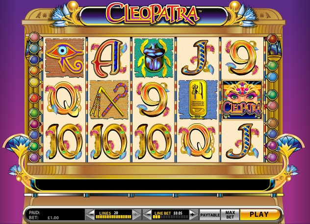 Cleopatra Slot Screenshot