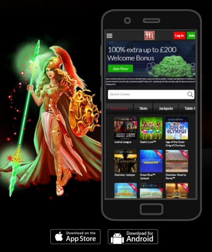 Mansion Casino Mobile & Apps