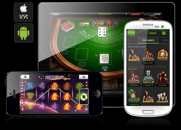 888 Casino UK Mobile