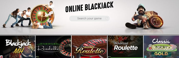 spinit casino blackjack games