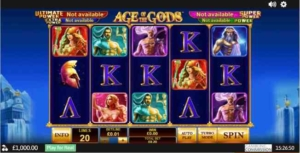 age of the gods slot jackpot