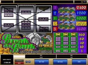 break da bank screenshot