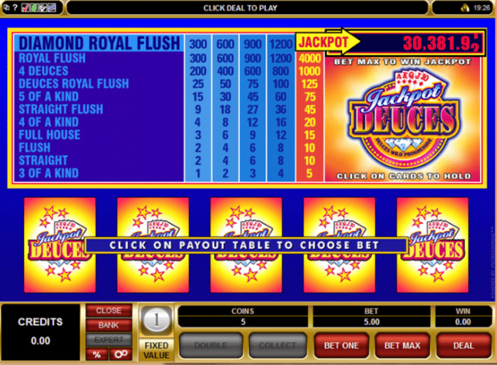microgaming video poker