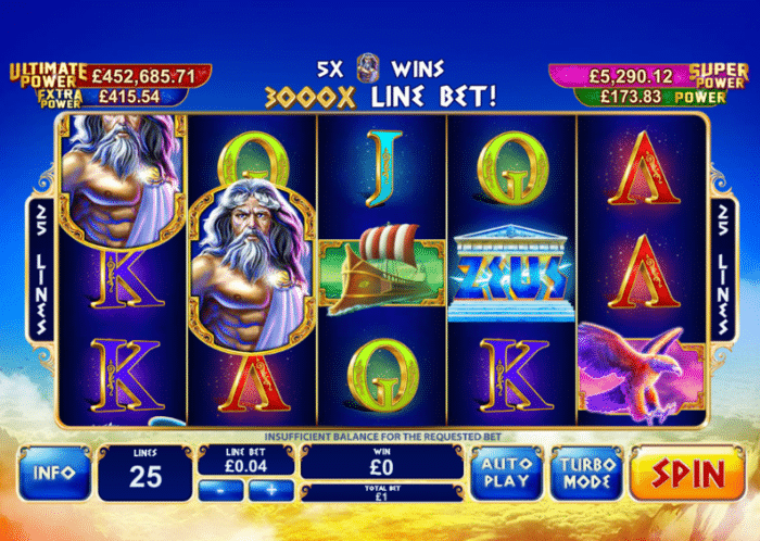 Playtech Age of the Gods Slot