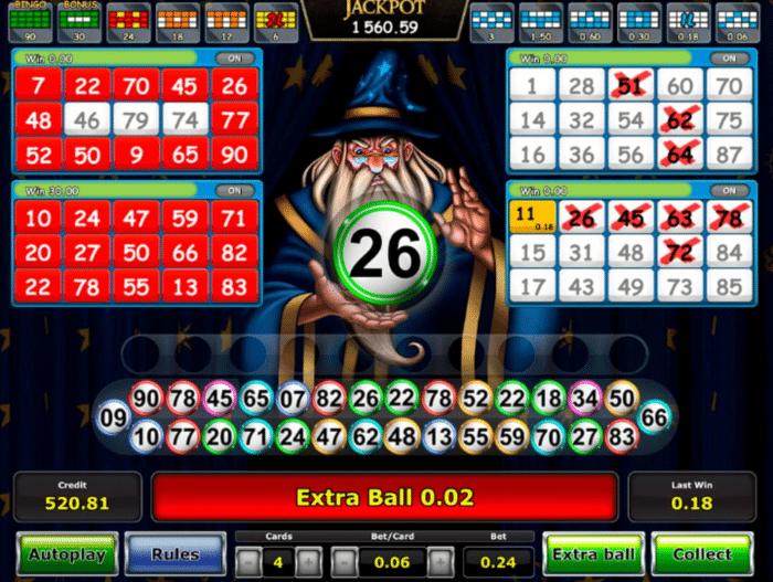 novomatic bingo