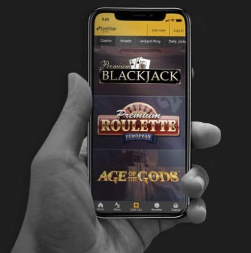 Betfair Casino Mobile Apps