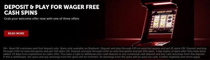 Betsafe Casino Welcome Bonus