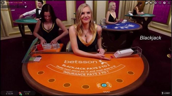 Betsson Live Casino