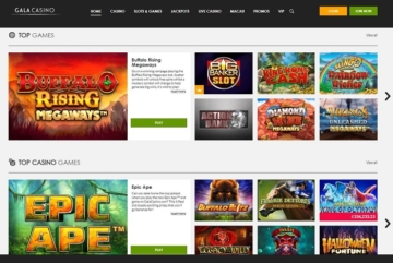 Gala Casino Game Screenshot