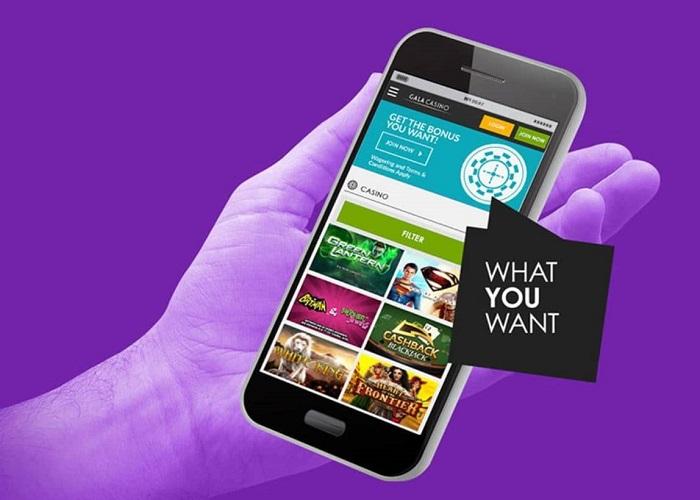 Gala Casino Mobile App