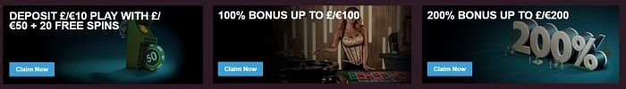 Paddy Power Casino 3 Welcome Bonuses