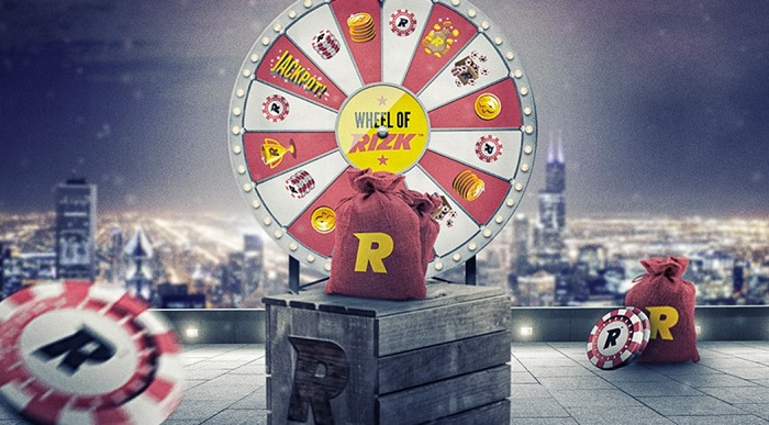 Rizk Casino Wheel of Rizk