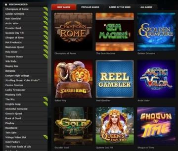BETAT Casino Games