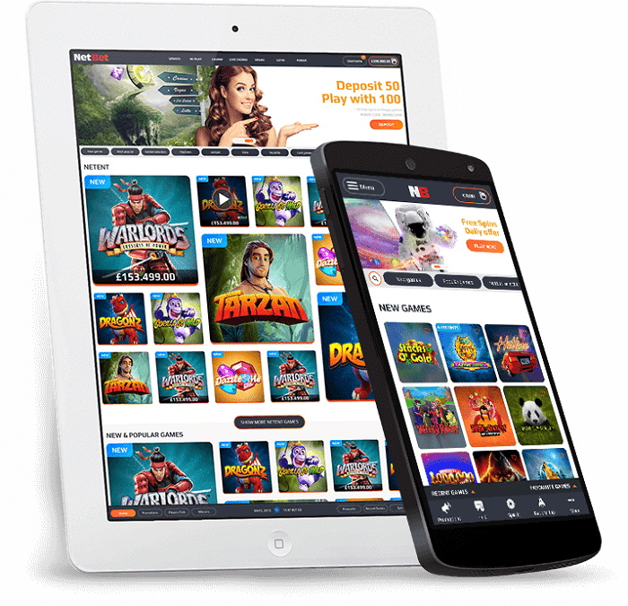 NetBet Casino Mobile & Apps