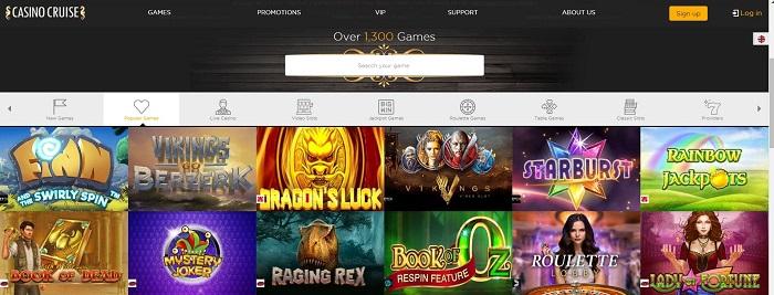 Casino Cruise Screenshot Games