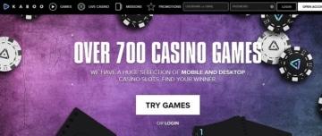 Kaboo Casino Games