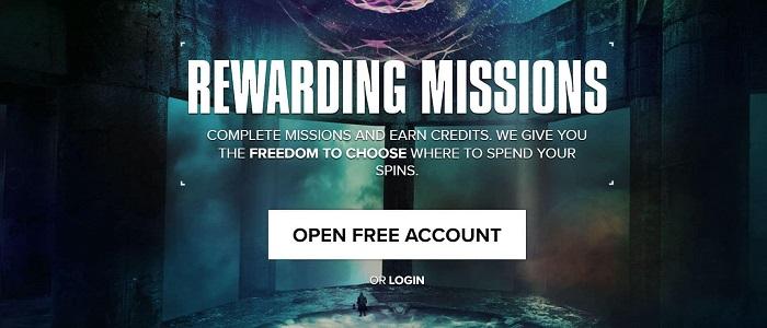 Kaboo Casino Welcome Bonus Missions