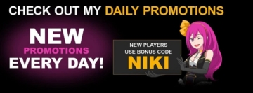 LuckyNiki Casino Promotions