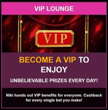 LuckyNiki Casino VIP