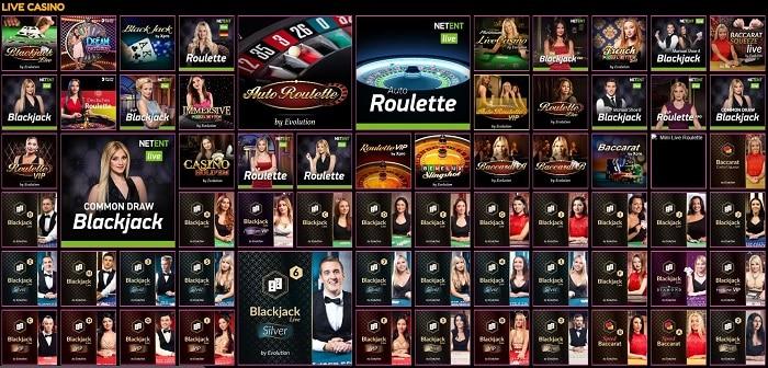 LuckyNiki Live Casino