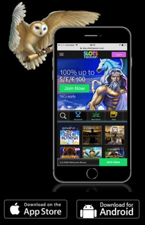 Slots Heaven Casino Mobile & Apps