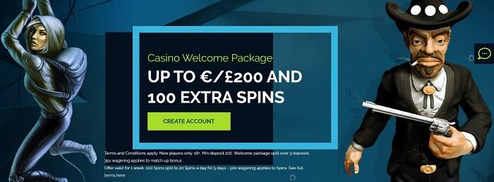 Wixstars Casino Welcome Bonus