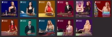 10Bet Live Casino