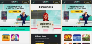 Gate 777 Casino Mobile & Apps