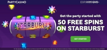 partycasino welcome bonus