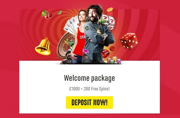 Spinit Casino Welcome Bonus