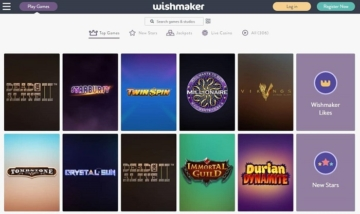 wishmaker casino screenshot games