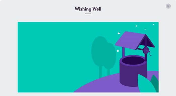 Wishing Well Promotion