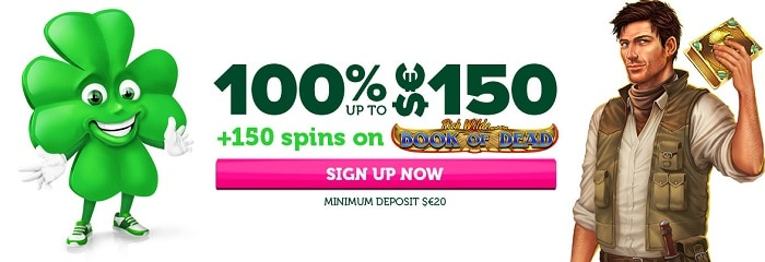Casino Luck welcome bonus
