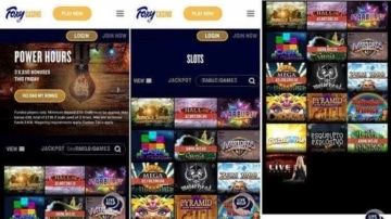 Foxy Casino Mobile App