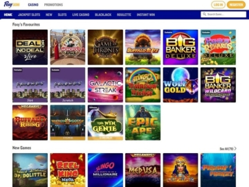 Foxy Casino Screenshot Games