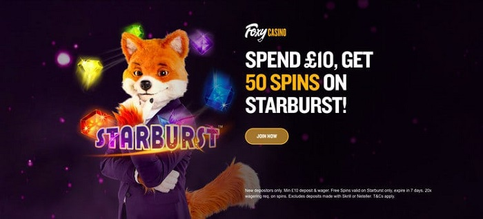 Foxy Casino Welcome Bonus