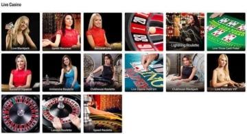 Live Casino at Foxy Casino