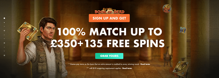 Slotty Vegas Casino Welcome Bonus