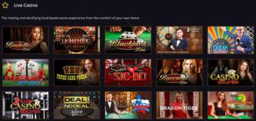 21Casino Live Casino