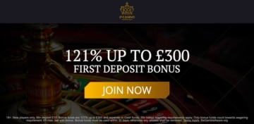 21Casino Welcome Bonus