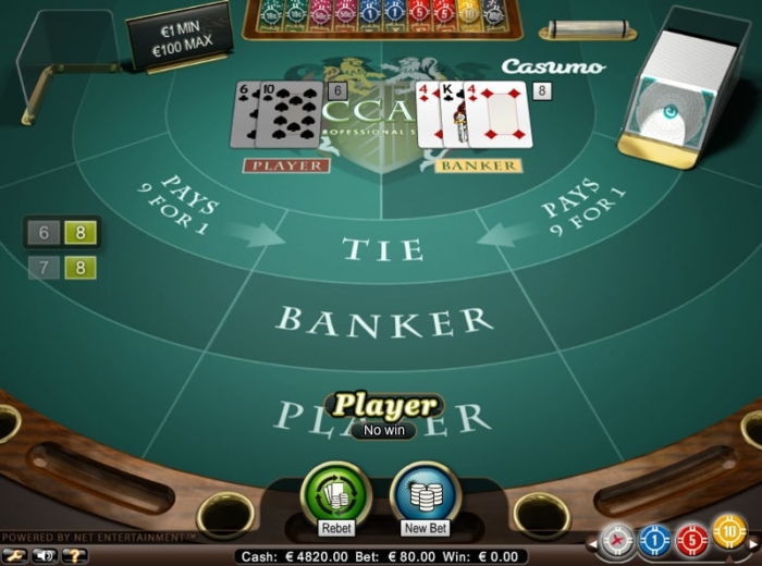 baccarat online review