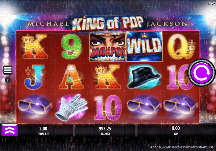 Michael Jackson Slot by Bally Games