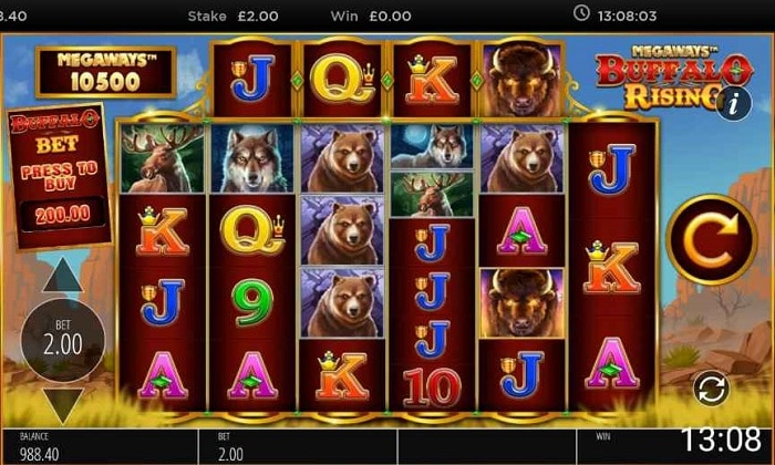Buffalo Rising Slot