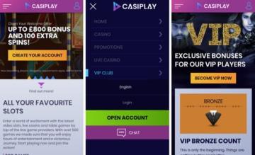 Casiplay Casino Mobile App