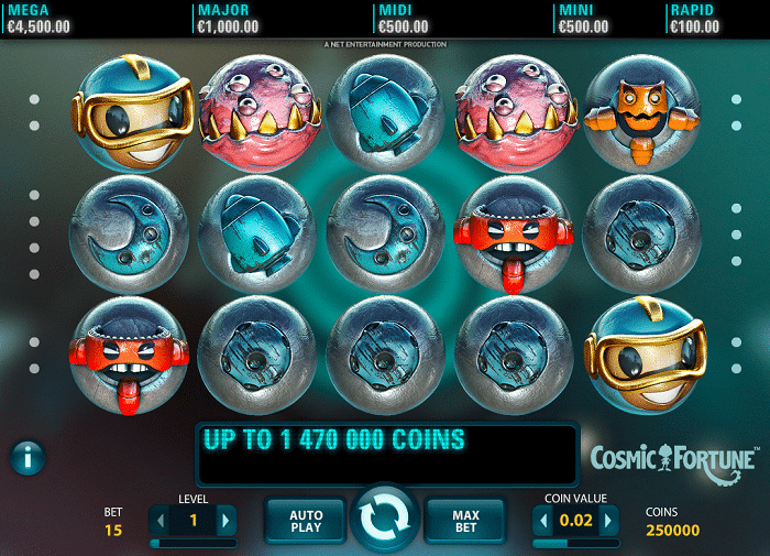 Cosmic Fortune Slot Screenshot