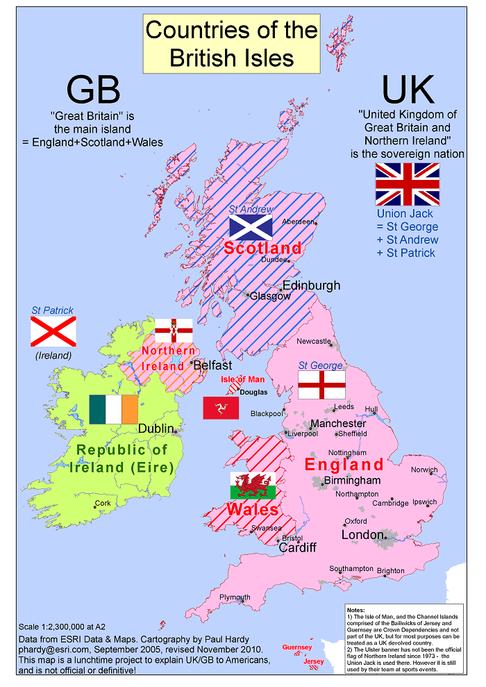 Countries of the British Isles