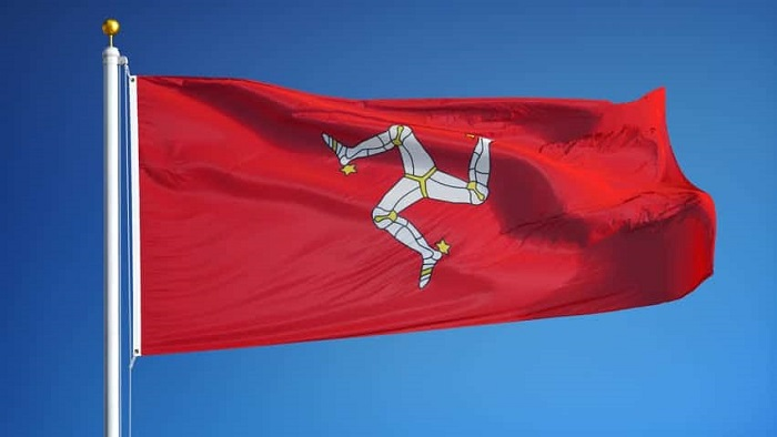 Isle of Mann Flag or Flag of Mann