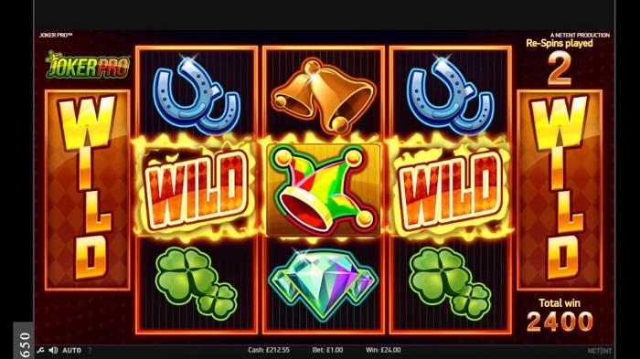 Joker Pro Slot Wild Symbol