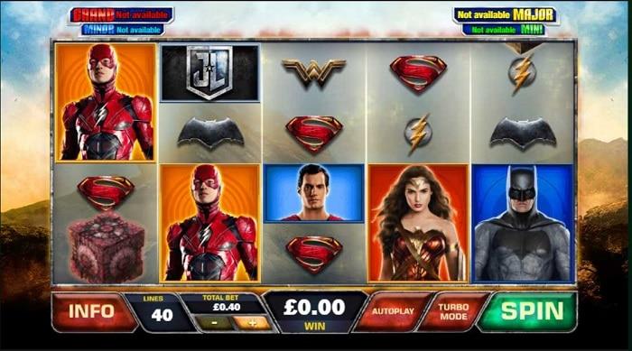 DC Comics Jackpot Slots - Justice League
