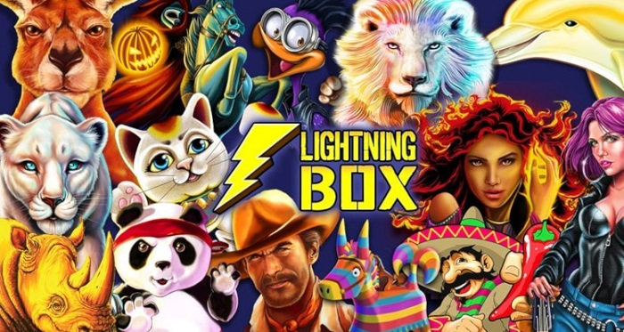 lightning box gaming logo games